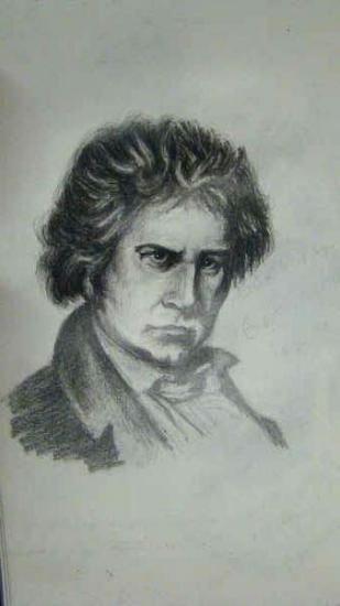 Ludwig van Beethoven by tetris